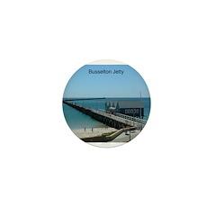 Busselton Jetty Mini Button (100 pack)