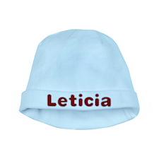 Leticia Santa Fur baby hat