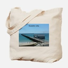Busselton Jetty Tote Bag