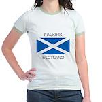 Falkirk Scotland Jr. Ringer T-Shirt
