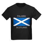 Falkirk Scotland Kids Dark T-Shirt