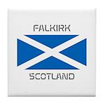 Falkirk Scotland Tile Coaster