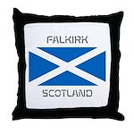 Falkirk Scotland Throw Pillow