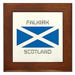 Falkirk Scotland Framed Tile