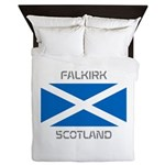 Falkirk Scotland Queen Duvet