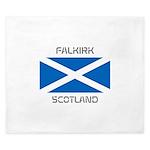 Falkirk Scotland King Duvet