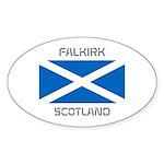 Falkirk Scotland Sticker (Oval 10 pk)