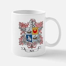 Smith Family Crest 4 Mugs