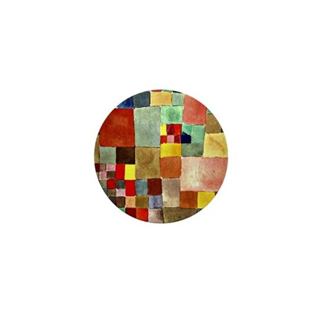 Paul Klee - Flora on Sand Mini Button