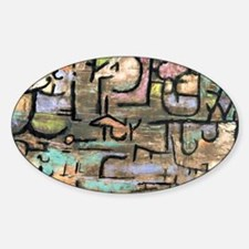 Paul Klee - After the Floods Sticker (Oval)