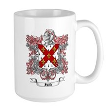 Smith Family Crest 3 Mugs