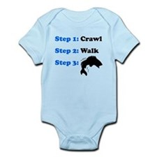 Crawl Walk Fishing Body Suit