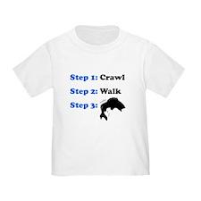 Crawl Walk Fishing T-Shirt