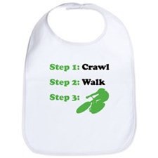 Crawl Walk Cycling Bib