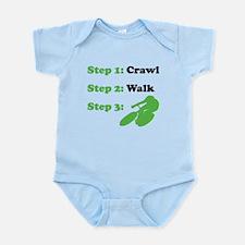 Crawl Walk Cycling Body Suit