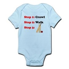 Crawl Walk Cricket Body Suit