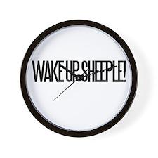 Wake up Sheeple Wall Clock