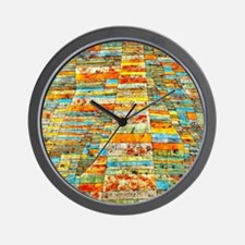 Paul Klee - Highway and Byways Wall Clock