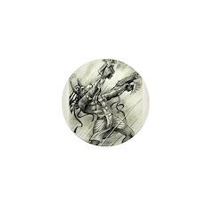 Cyberpunk Anubis Mini Button (10 pack)
