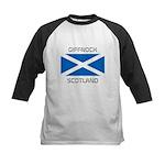 Giffnock Scotland Kids Baseball Jersey