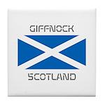 Giffnock Scotland Tile Coaster