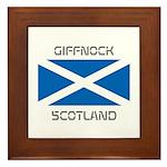 Giffnock Scotland Framed Tile