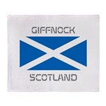 Giffnock Scotland Throw Blanket