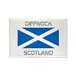 Giffnock Scotland Rectangle Magnet (10 pack)
