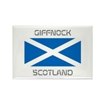 Giffnock Scotland Rectangle Magnet (100 pack)