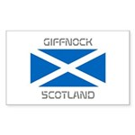 Giffnock Scotland Sticker (Rectangle)