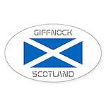 Giffnock Scotland Sticker (Oval)