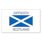 Giffnock Scotland Sticker (Rectangle 10 pk)