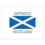 Giffnock Scotland Small Poster