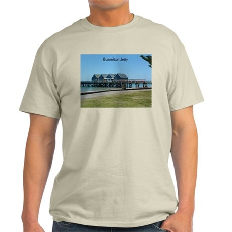 Jetty Interpretive Centre Ash Grey T-Shirt