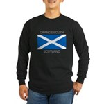 Grangemouth Scotland Long Sleeve Dark T-Shirt