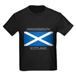 Grangemouth Scotland Kids Dark T-Shirt