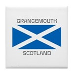 Grangemouth Scotland Tile Coaster