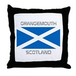 Grangemouth Scotland Throw Pillow