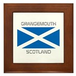 Grangemouth Scotland Framed Tile