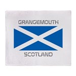 Grangemouth Scotland Throw Blanket