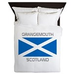 Grangemouth Scotland Queen Duvet