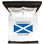 Grangemouth Scotland King Duvet