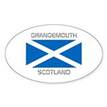 Grangemouth Scotland Sticker (Oval 10 pk)
