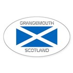 Grangemouth Scotland Sticker (Oval 50 pk)