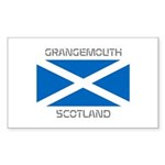 Grangemouth Scotland Sticker (Rectangle 10 pk)