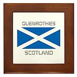 Glenrothes Scotland Framed Tile