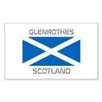 Glenrothes Scotland Sticker (Rectangle 10 pk)