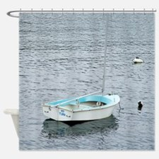My Turn Sailboat Shower Curtain