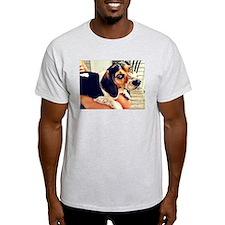 Bella a Lap Beagle T-Shirt