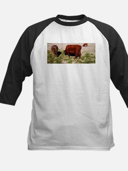 Highland Cattle Baseball Jersey